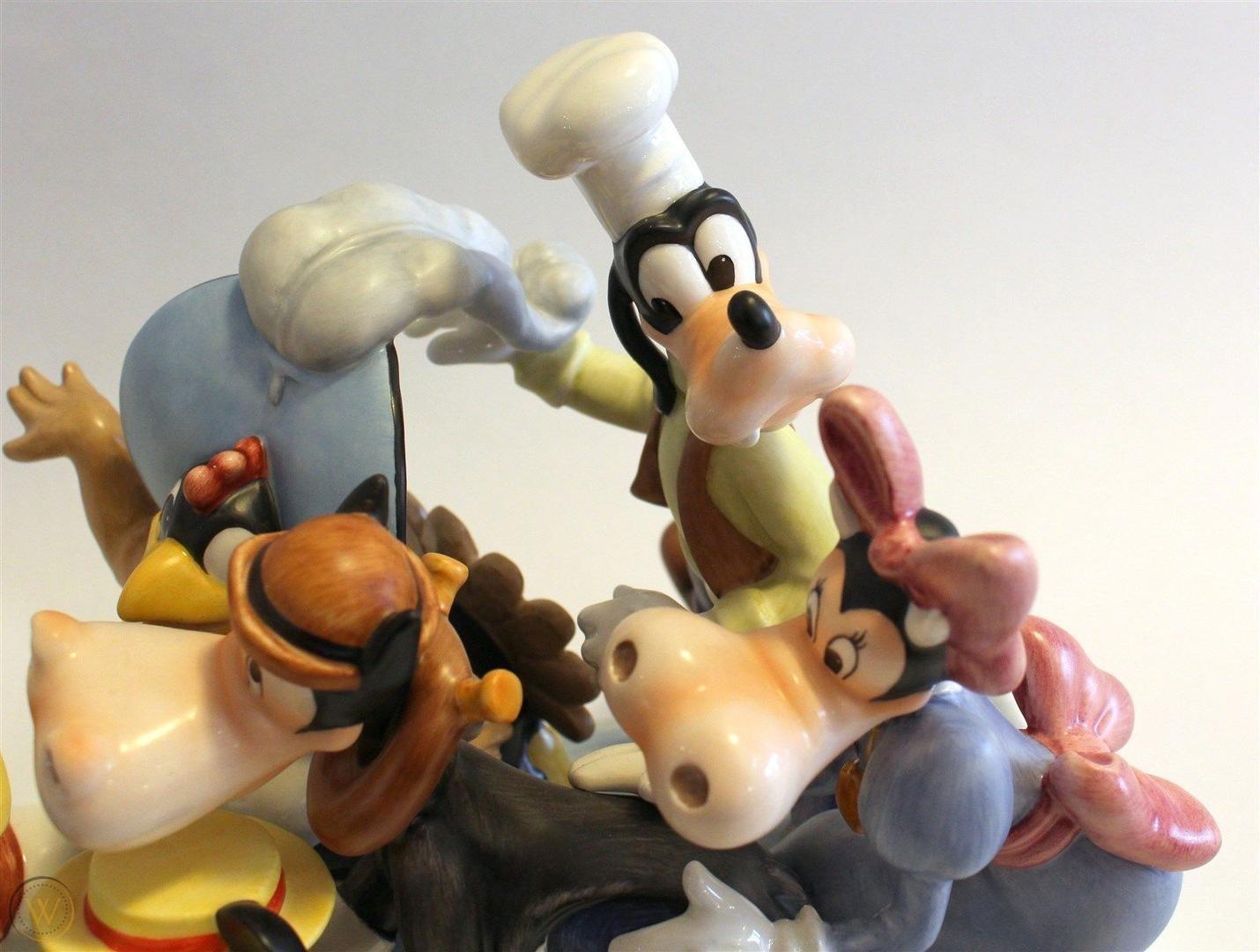 Disney birthday figurines