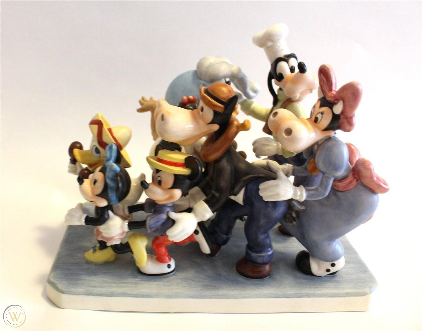 Disney birthday figurines