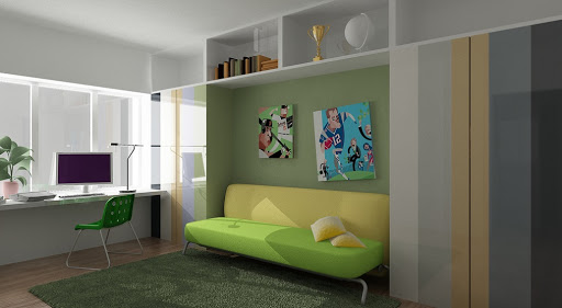 green office interior design ideas